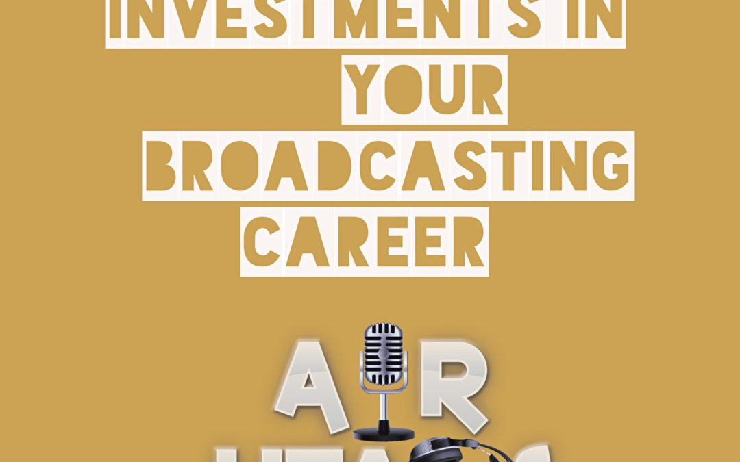 Your top 5 Investments for any announcer.